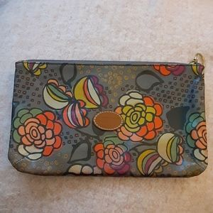 Fossil make up pouch